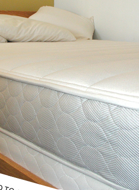 cozy coil organic innerspring mattress
